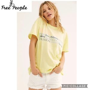 Free People size large Celebrate Texas Golden Road